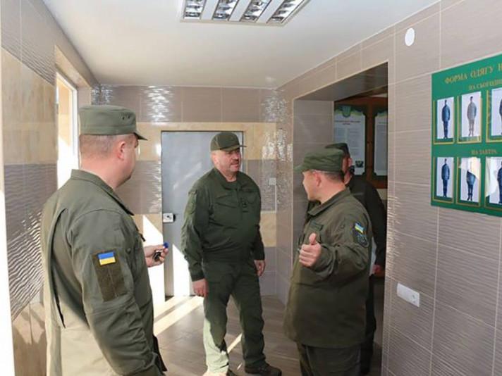 Командувач Національної гвардії України Юрій Аллеров у Луцьку