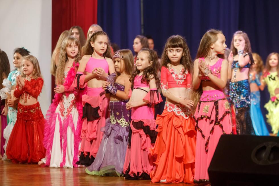 Зал був зачарований майстерністю дівчат та їхньою акторською грою