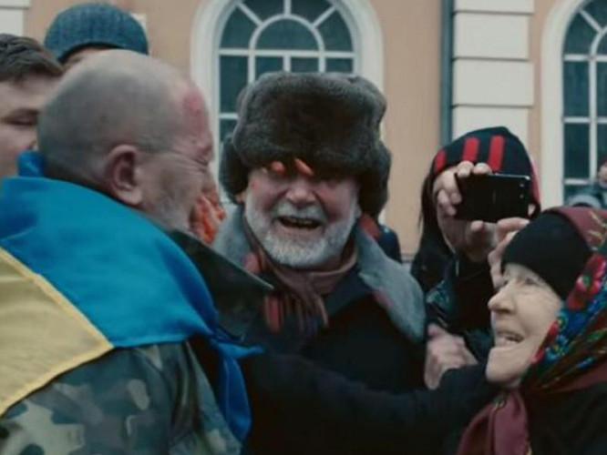 Кадр з фільму «Донбас»