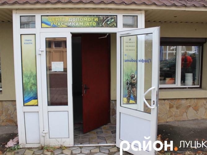 Центр  допооги учасникам АТО