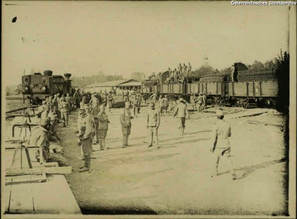 Луцький вокзал, 1915 р.