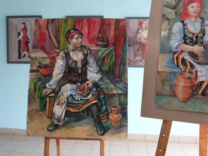 Виставка картин в ЛНТУ