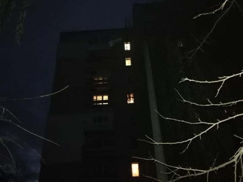 на вулиці Станіславського - темрява