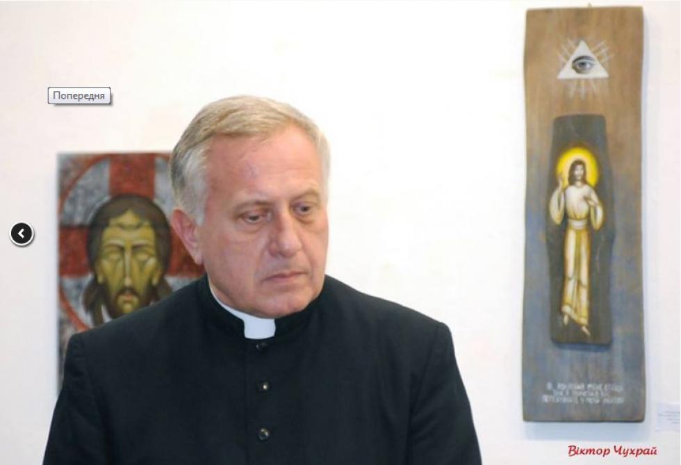 Керівник та натхненник Інтеграційного центру в Замлинні отець Ян Бурас