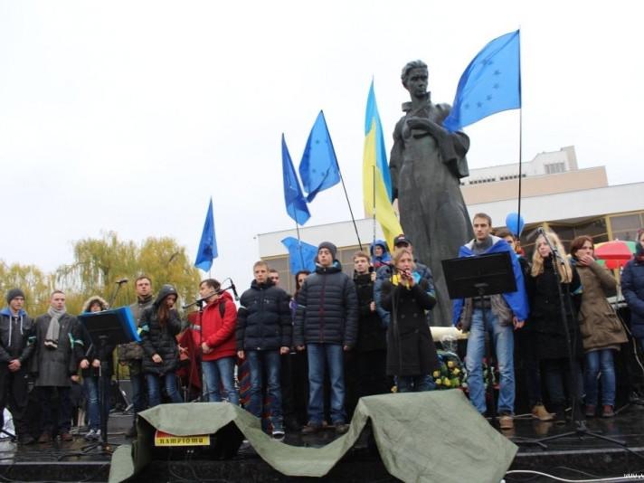 Євромайдан у Луцьку (2013 рік)