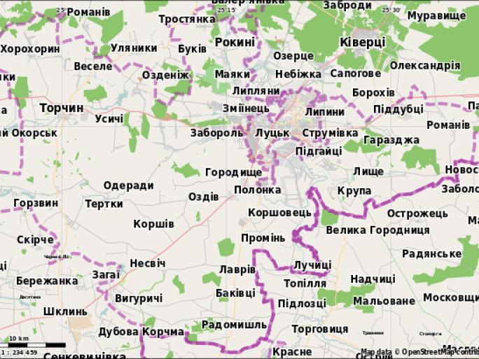 Луцький район