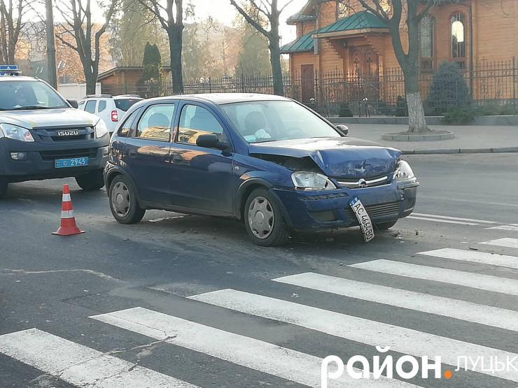 Аварія в Луцьку на Рівненській