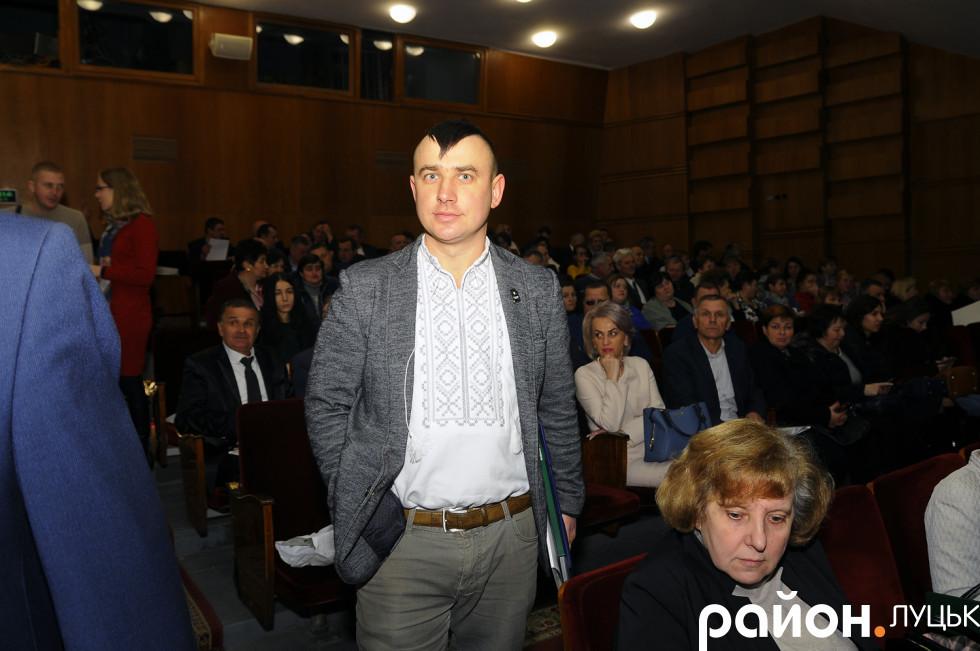 Сільський голова Дерна Олександр Гуч