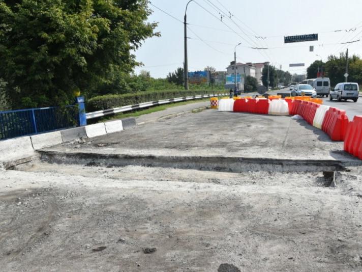 Ремонт моста на Ковельській