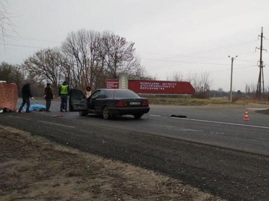 аварія поблизу селища Рокині