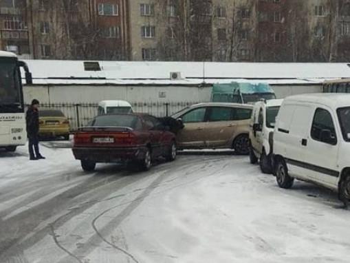 аварія на автостанції
