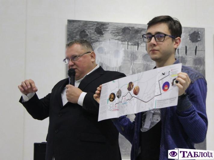 Презентували карту трьох музеїв Луцька