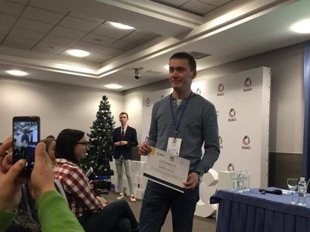 Нагородження Юрія Горбача