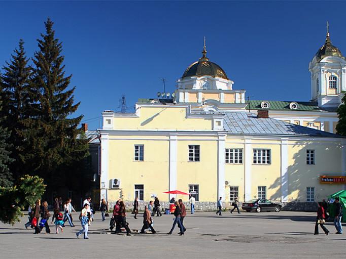 Будівля, в якій розташована Волинська обласна бібліотека для юнацтва