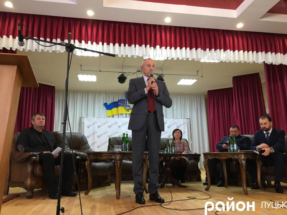 Голова Волинської ОДА Олександр Савченко