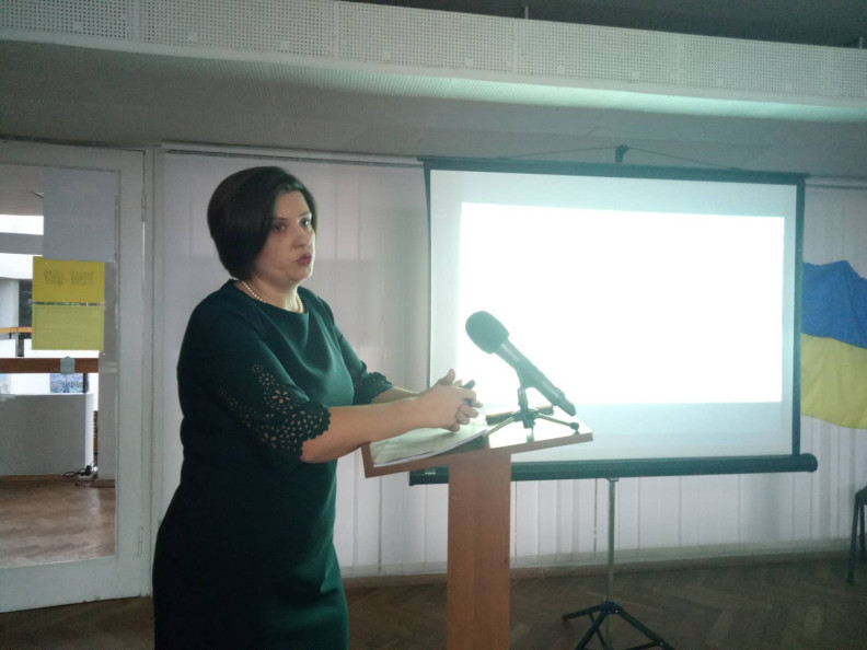 Кандидат на посаду директора краєзнавчого музею Оксана Важатко