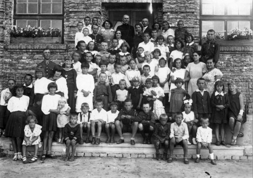 Літній табір в Клевані (Рівненщина), 1936 рік
