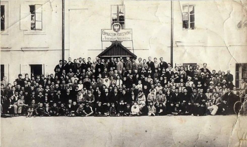 Учні луцької гімназії Т.Костюшко