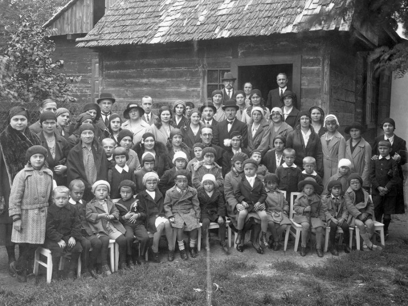 Відкриття садочку в Ковелі, 1931 рік