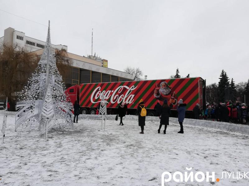 Вантажівка Coca-Cola