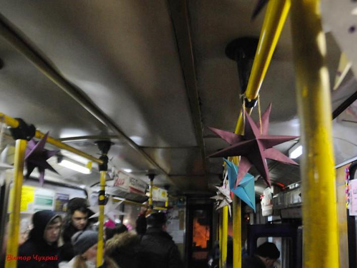 Різдвяний тролейбус