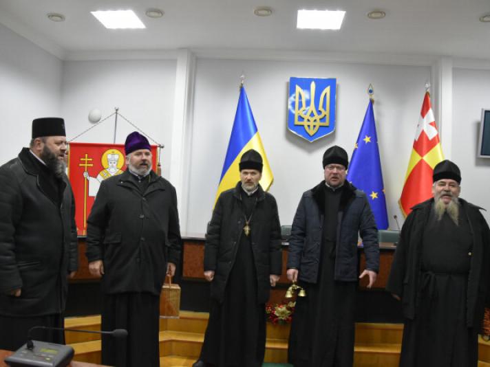 священнослужителі Свято-Троїцького кафедрального собору