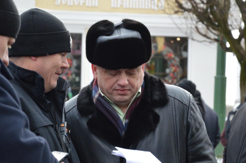 начальник луцького відділення поліції Олег Кічук