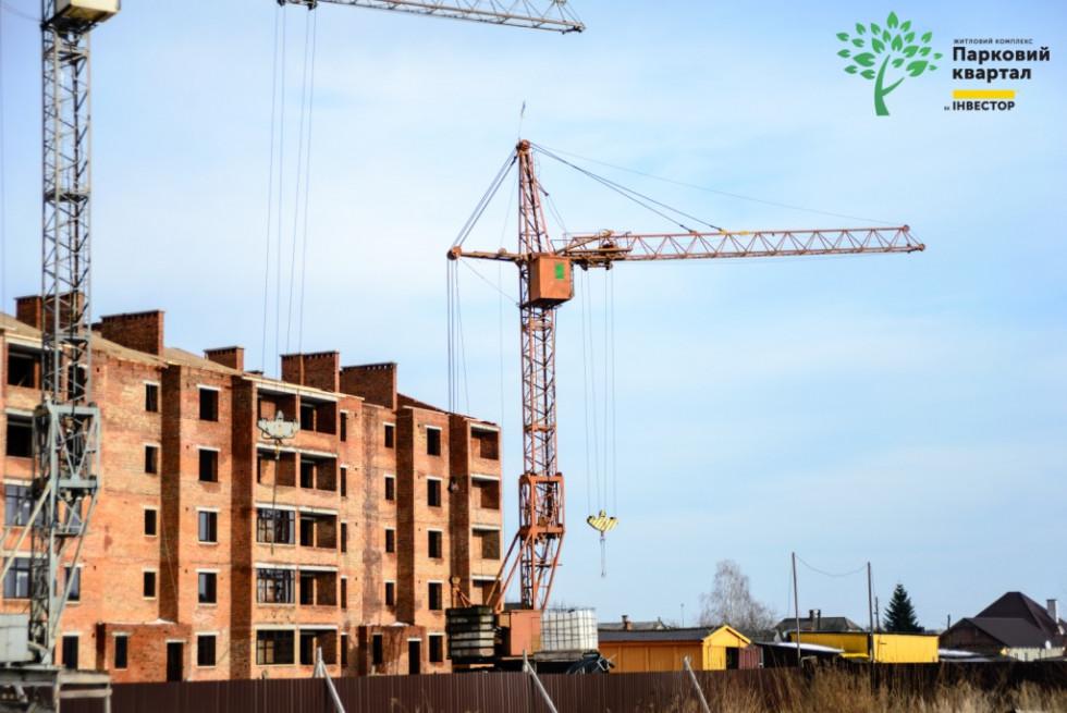 Будівництво у житловому комплексі