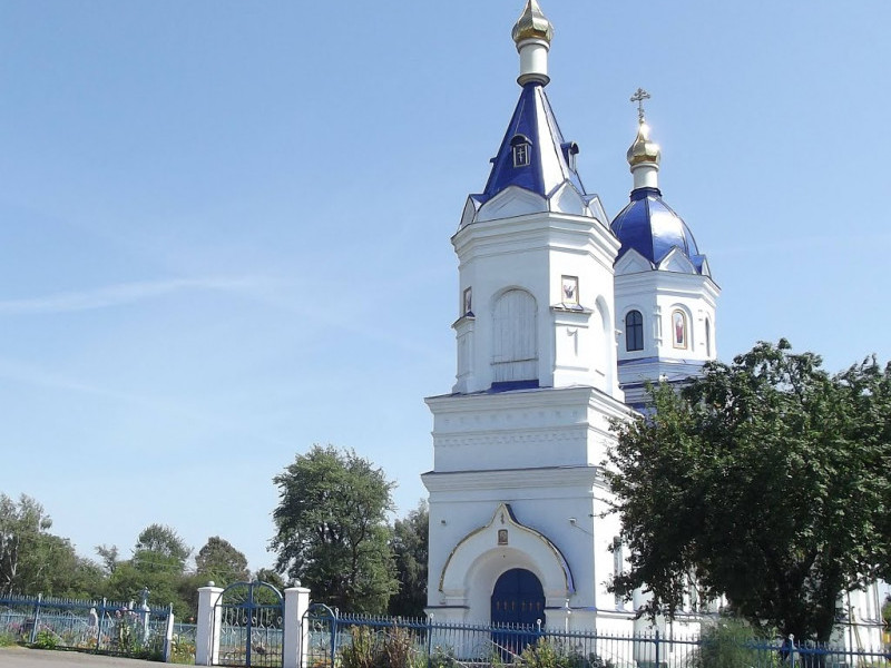 Церква села Садів