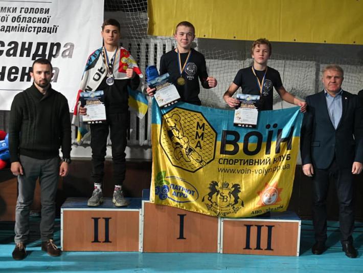 Перше командне місце на Чемпіонаті посів спортивний клуб «Воїн»