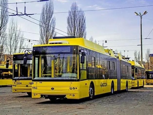 «Богдан-Моторс» виготовить для Києва 55 великих тролейбусів