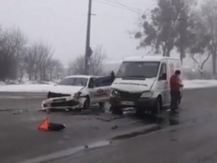 Аварія на Львівській у Луцьку