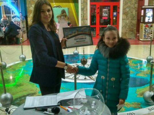 Волинянка виграла путівку до Європи від «Адреналін Сіті»
