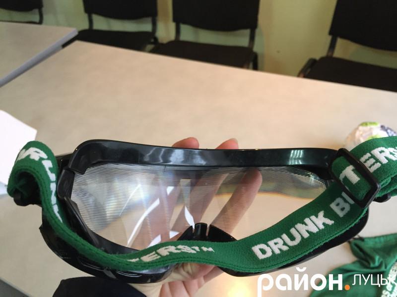 «П'яні» окуляри