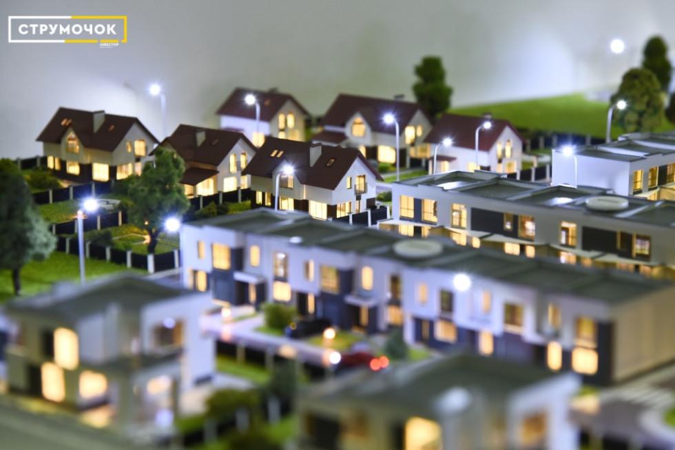 Таунхауси та приватні будинки ЖК «Струмочок»