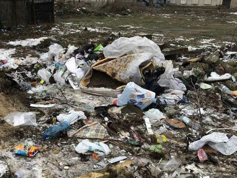 на проспекті Соборності ліквідували сміттєзвалище