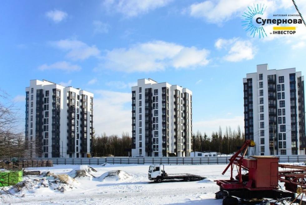 Будинки в ЖК «Супернова»