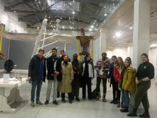 Іноземних гостей вразив Музей сучасного українського мистецтва у Луцьку