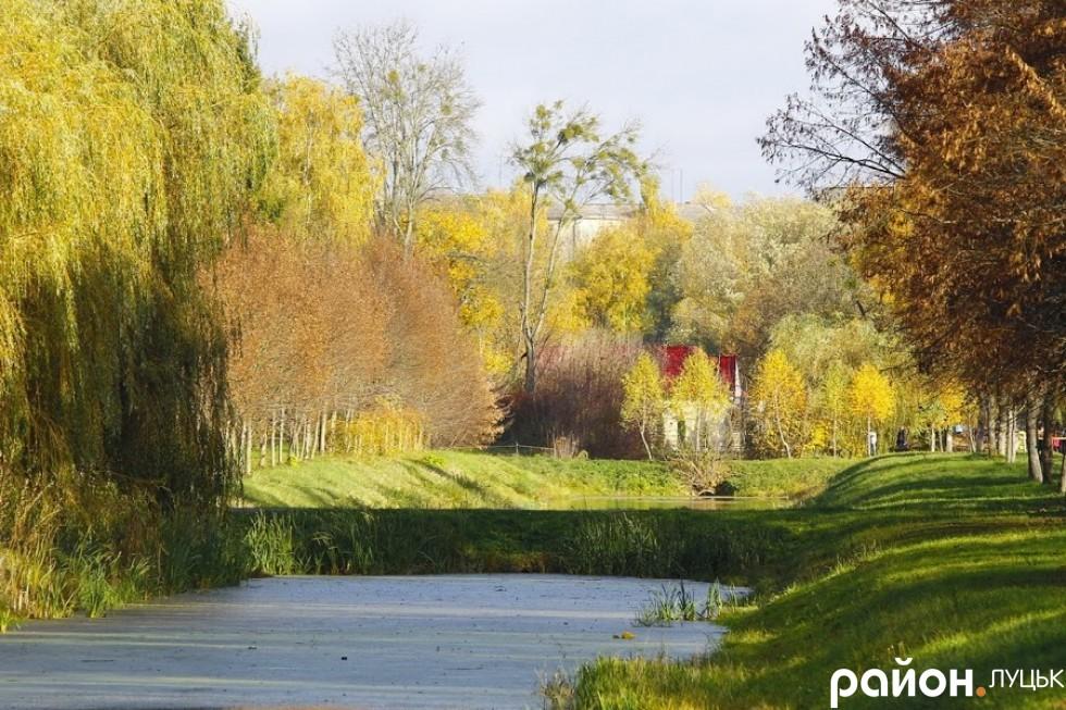 Осінь у Центральному парку культури та відпочинку імені Лесі Українки