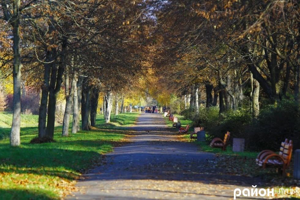 Центральний парк м. Луцьк