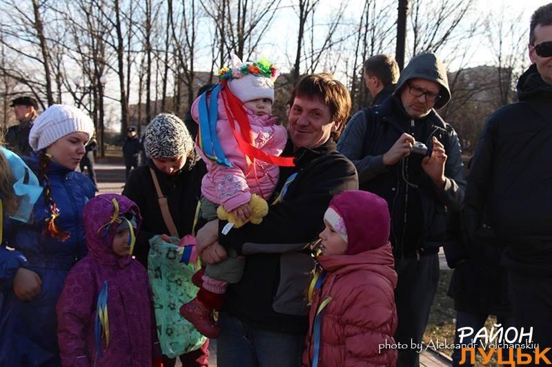 Геннадій Щербак з дітками