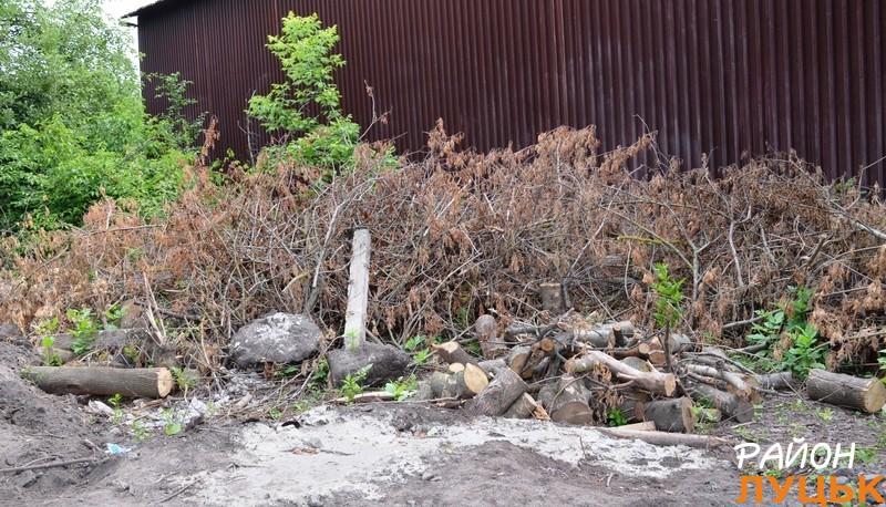 Заступник директора КП сказав, що дерев'яні відходи застосують для опалення. бо газу не мають