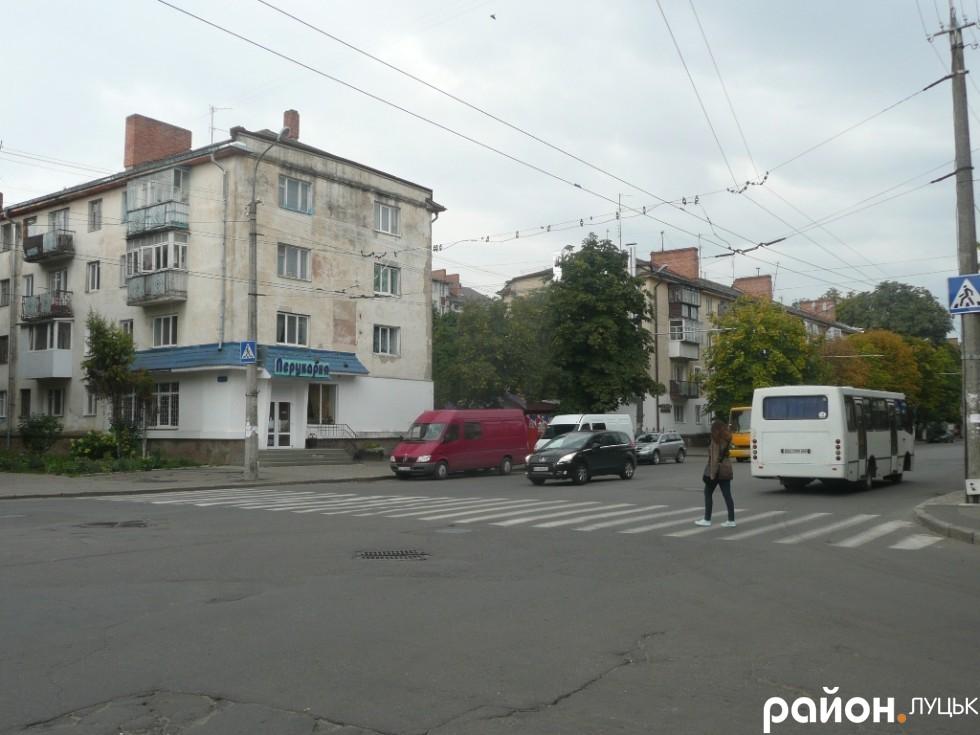 Частина проспекту Грушевського - округ Бірюкова