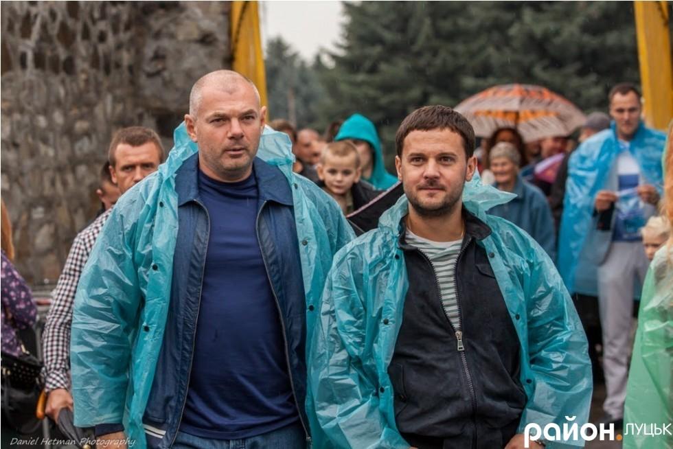 Ігор Палиця та Олександр Товстенюк (справа)