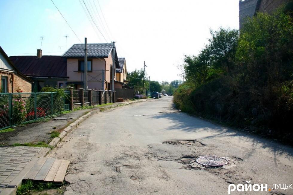 Вулиця Замкова