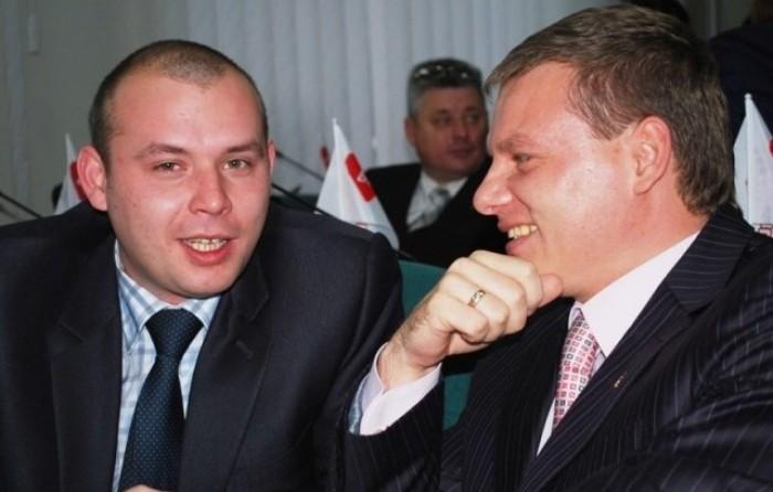 Колеги-епутати Рустам Дячук і  Антон Сосновський