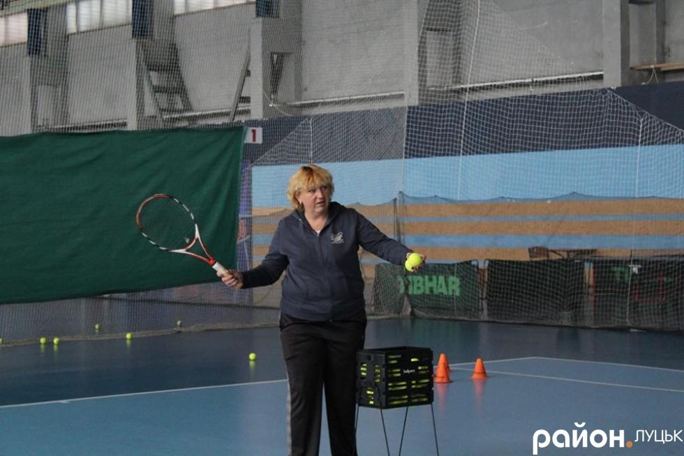 тренерський склад тенісної академії «Адреналін» підсилила досвідчений тренер Ірина Новосьолова