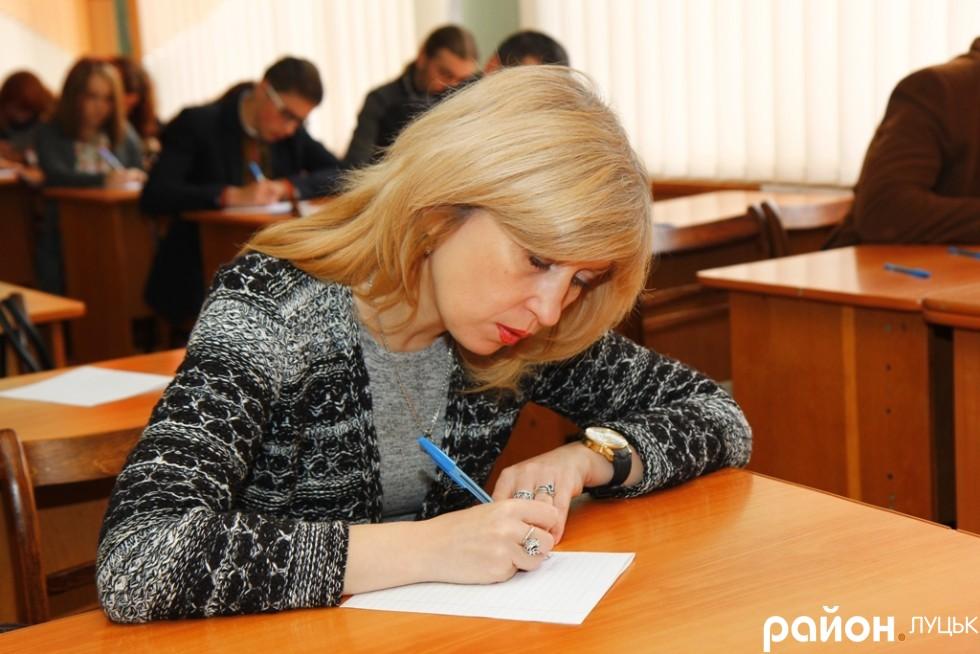 Заслужена артистка України Світлана Органіста