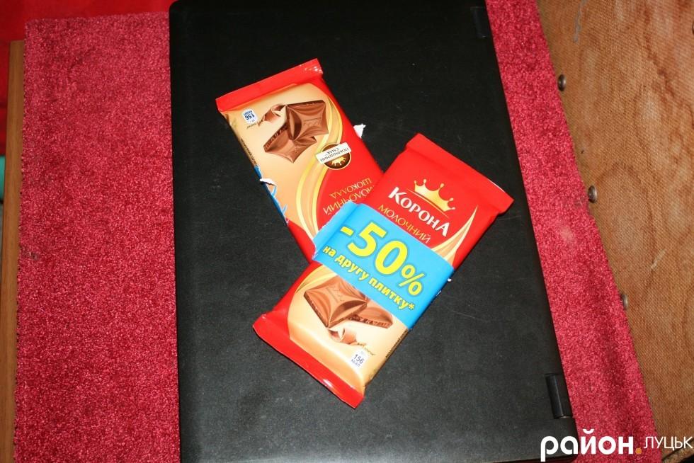 Якщо шоколад, то акційний