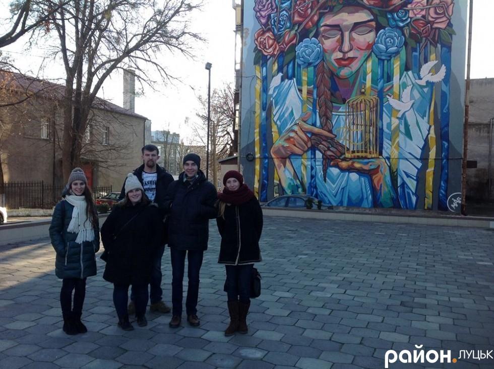 Волонтерка уже має друзів серед молодих громадських активістів Луцька